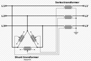 phase shifting transformer working principle